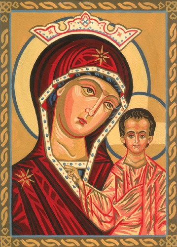 Needlepoint Canvas 22x30cm Our lady of Kazan