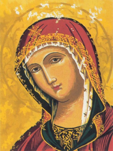 Needlepoint Canvas 22x30cm Our Lady of Consolation