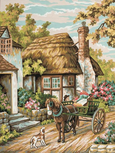 10491 Needlepoint Canvas 30x40cm Bakers Delight