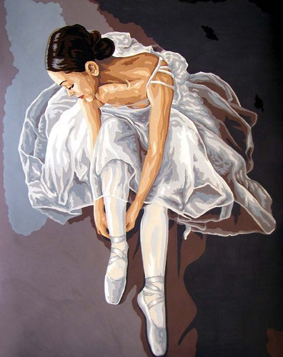 11569 Needlepoint Canvas 50x40cm Prima Ballerina