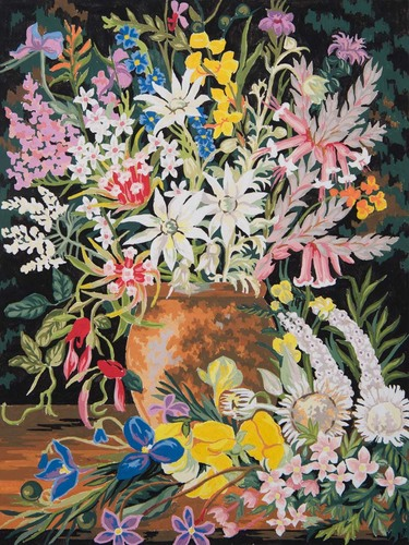 11872 Needlepoint Canvas 50x40cm Wildflowers I