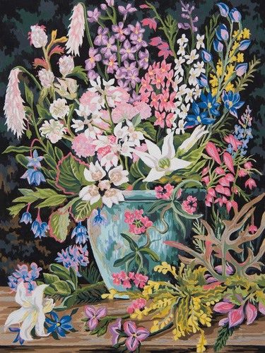 11873 Needlepoint Canvas 50x40cm Wildflowers II