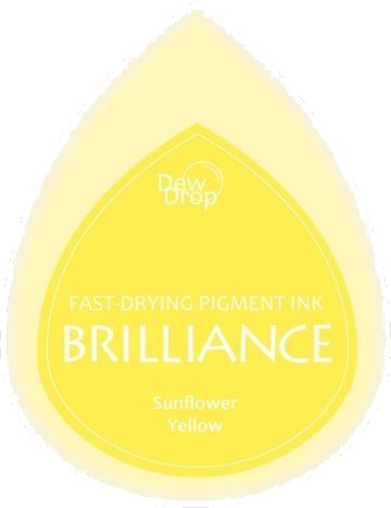 BD-000-011 Brilliance Dew Drops inkpads Sunflower Yellow