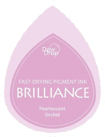 BD-000-034 Brilliance Dew Drops inkpads Pearlescent Orchid