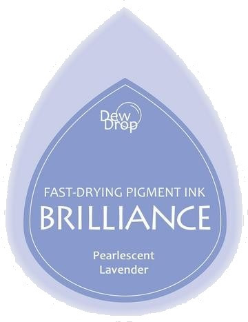 BD-000-037 Brilliance Dew Drops inkpads Pearlescent Lavender