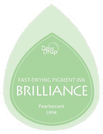 BD-000-042 Brilliance Dew Drops inkpads Pearlescent Lime