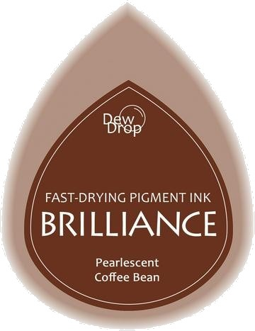 BD-000-054 Brilliance Dew Drops inkpads Coffee Bean