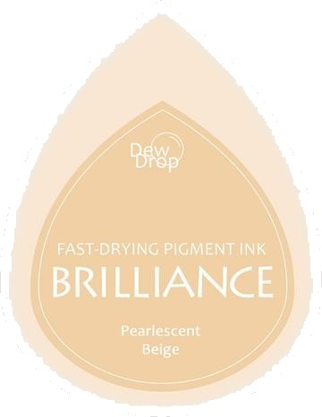 BD-000-055 Brilliance Dew Drops inkpads Pearlescent beige