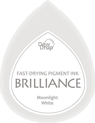 BD-000-080 Brilliance Dew Drops inkpads Moonlight white