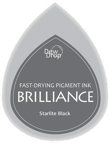 BD-000-090 Brilliance Dew Drops inkpads Starlight black