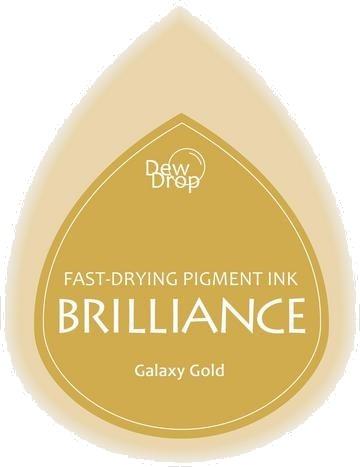 BD-000-091 Brilliance Dew Drops inkpads Galaxy gold