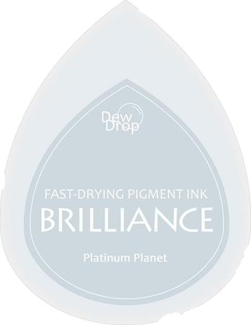 BD-000-092 Brilliance Dew Drops inkpads Platinum Planet