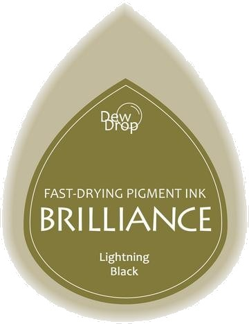 BD-000-095 Brilliance Dew Drops inkpads Lightning black