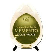 MD-000-708 Memento Inkpad Dewdrops Olive grove