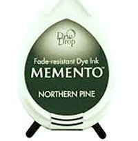 MD-000-709 Memento Inkpad Dewdrops Nothern pine