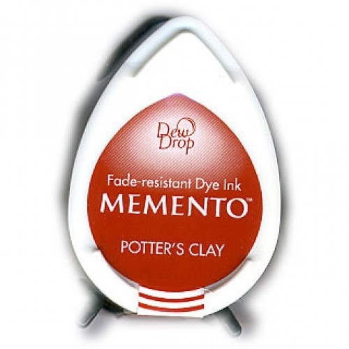 MD-000-801 Memento Inkpad Dewdrops Potter's clay