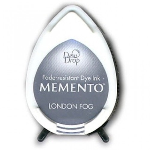 MD-000-901 Memento Inkpad Dewdrops London Fog