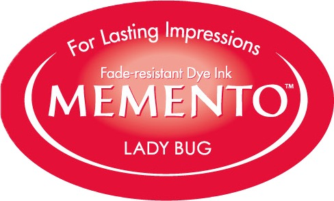 ME-000-300 Inkpad Large Memento Lady bug