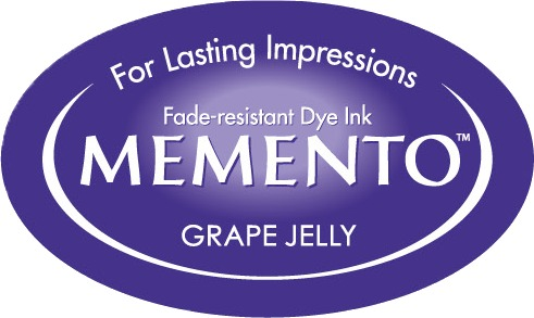 ME-000-500 Inkpad Large Memento Grape jelly