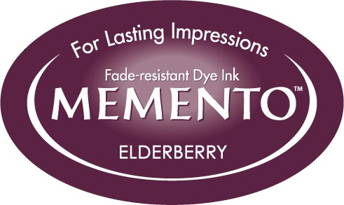 ME-000-507 Inkpad Large Memento Elderberry