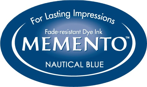 ME-000-607 Inkpad Large Memento Nautical blue