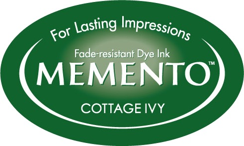 ME-000-701 Inkpad Large Memento Cottage ivy