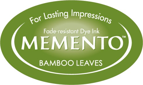 ME-000-707 Inkpad Large Memento Bamboo leaves