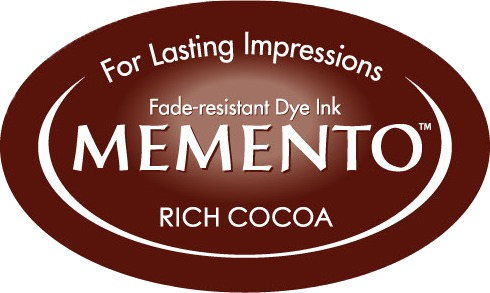 ME-000-800 Inkpad Large Memento Rich cocoa