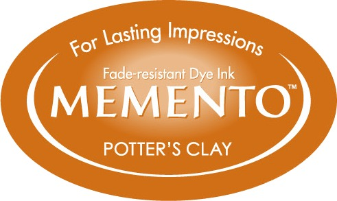 ME-000-801 Inkpad Large Memento Potter's clay