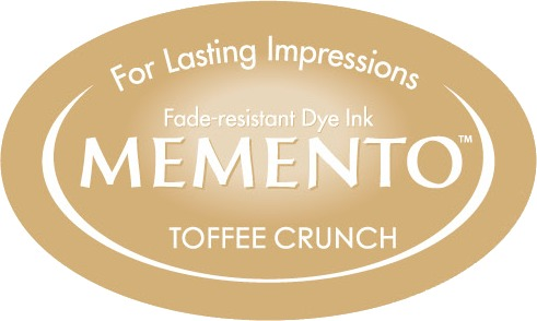 ME-000-805 Inkpad Large Memento Toffee Crunch