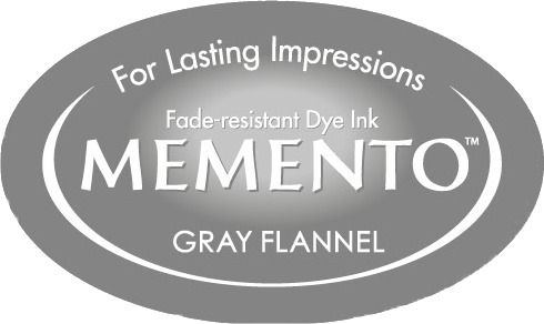ME-000-902 Inkpad Large Memento Gray Flannel