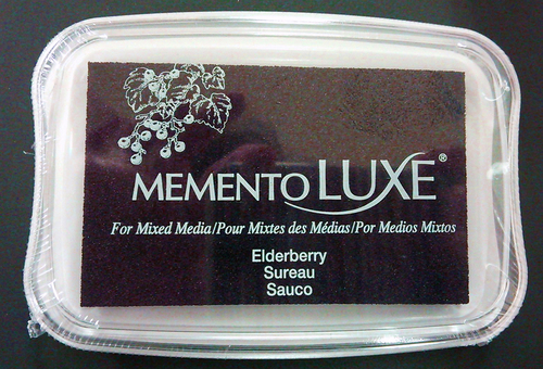 ML-507 Memento Inkpad De Luxe Elderberry