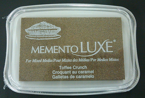 ML-805 Memento Inkpad De Luxe Toffee Crunch