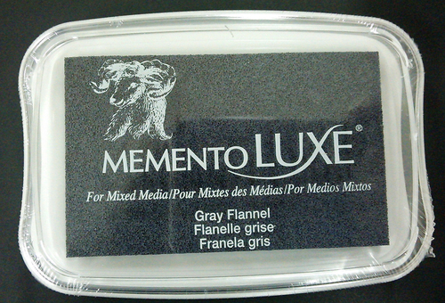 ML-902 Memento Inkpad De Luxe Gray Flannel