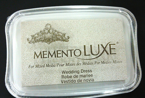ML-910 Memento Inkpad De Luxe Wedding dress
