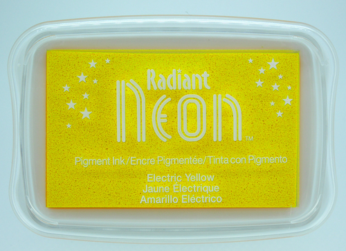 NR-000-71 Radiant Neon inkpads Electric yellow
