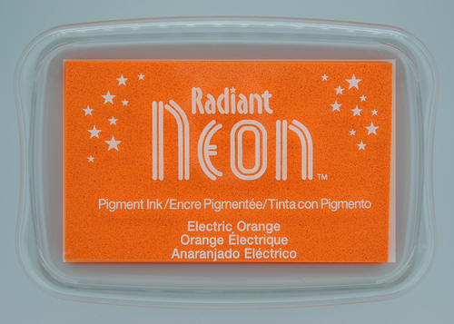 NR-000-72 Radiant Neon inkpads Electric orange
