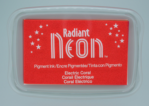 NR-000-73 Radiant Neon inkpads Electric coral