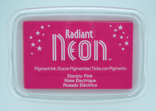 NR-000-74 Radiant Neon inkpads Electric pink