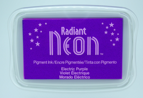 NR-000-75 Radiant Neon inkpads Electric purple