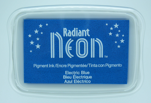 NR-000-76 Radiant Neon inkpads Electric blue