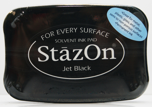 SZ-000-031 Stazon Ink pad jet black