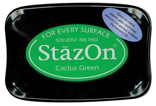 SZ-000-052 Stazon Ink pad cactus green