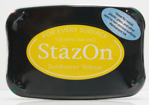SZ-000-093 Stazon Ink pad Sunflower yellow