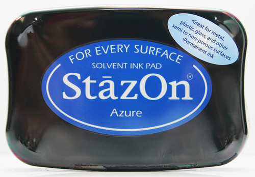 SZ-000-095 Stazon Ink pad azure