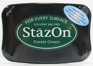 SZ-000-099 Stazon Ink pad Forest green