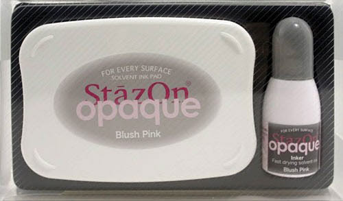 SZ-000-106 Stazon inkpad set opaque Blush pink