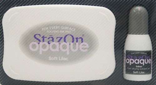 SZ-000-107 Stazon inkpad set opaque Soft lilac