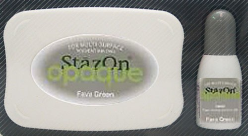 SZ-000-140 Stazon inkpad set opaque Fava green