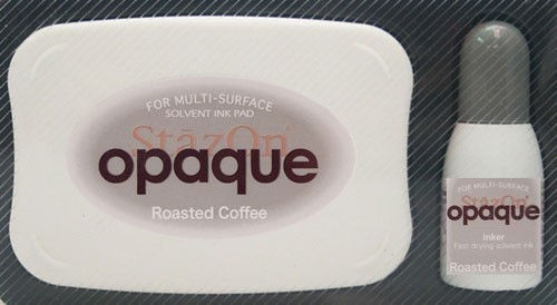 SZ-000-154 Stazon inkpad set opaque Roasted Coffe